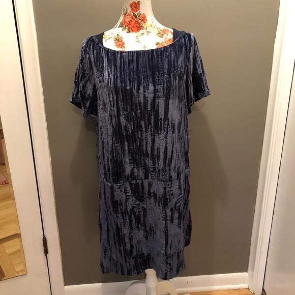 Anthropologie Dresses & Skirts - Anthropologie Floreat Velvet Shift Dress